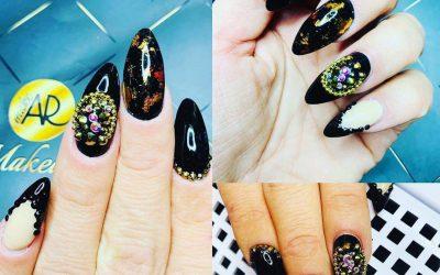 nail art design swarovski