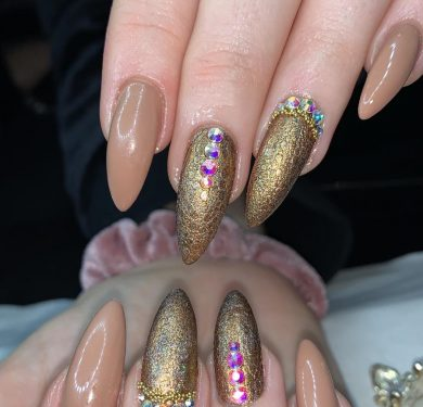 Nails extension acrygel